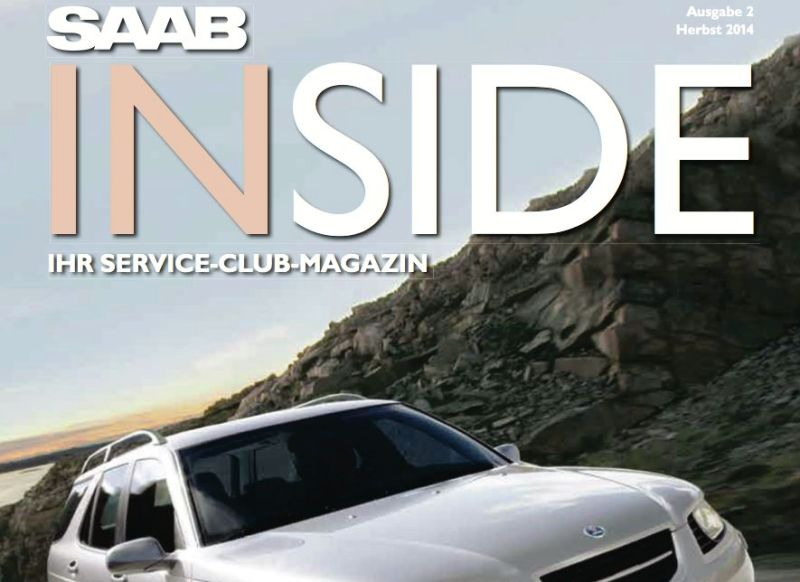 Saab Inside, Fall Edition 2014