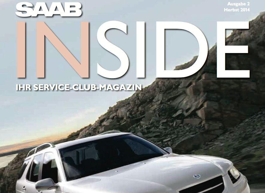 Saab Inside, Edição de Outono 2014