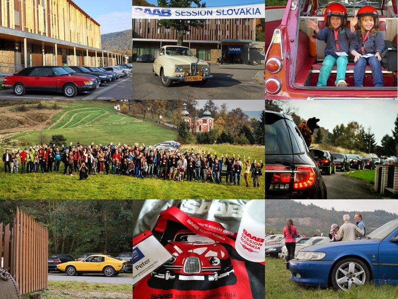 Saab Session Slovakien 2014