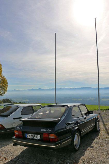 SAAB Ausfahrt Oberbayern, Panorama Hohenpeissenberg © 2014 matthias ketterl