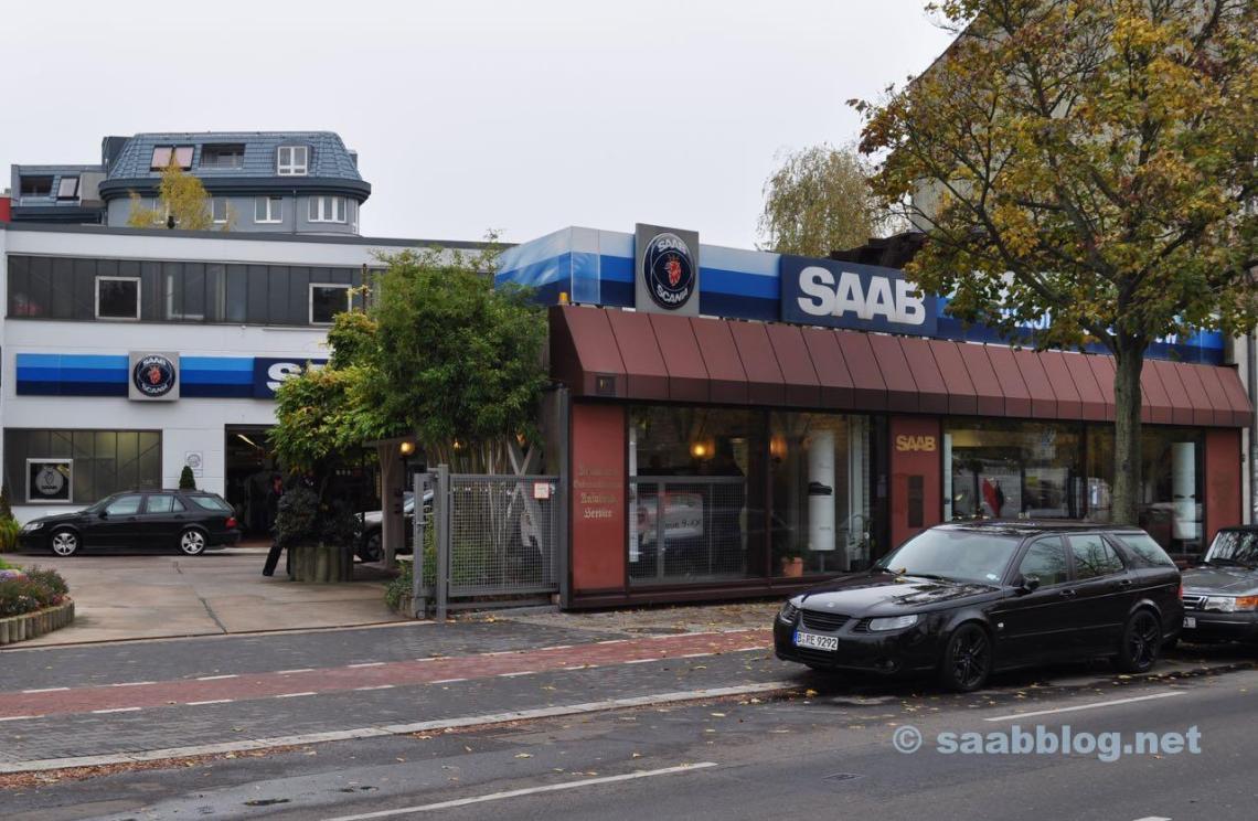 Saab Bredlow in Berlin