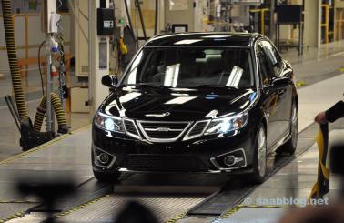 Der erste NEVS Saab ist fertig.