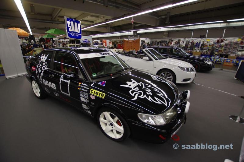 Saab 9-3 I Coupe på Essens Motorshow