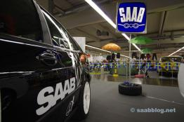Traditionell Saab-logotyp