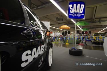 Traditionell Saab-logotyp