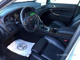 Saab 9-4x interiör