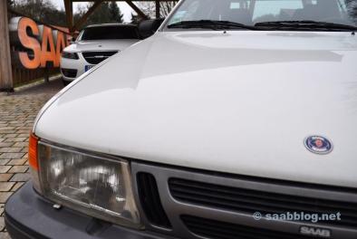 Generationsmöte. 9000 CC och 9-5 NG. Den första och den sista stora Saab.