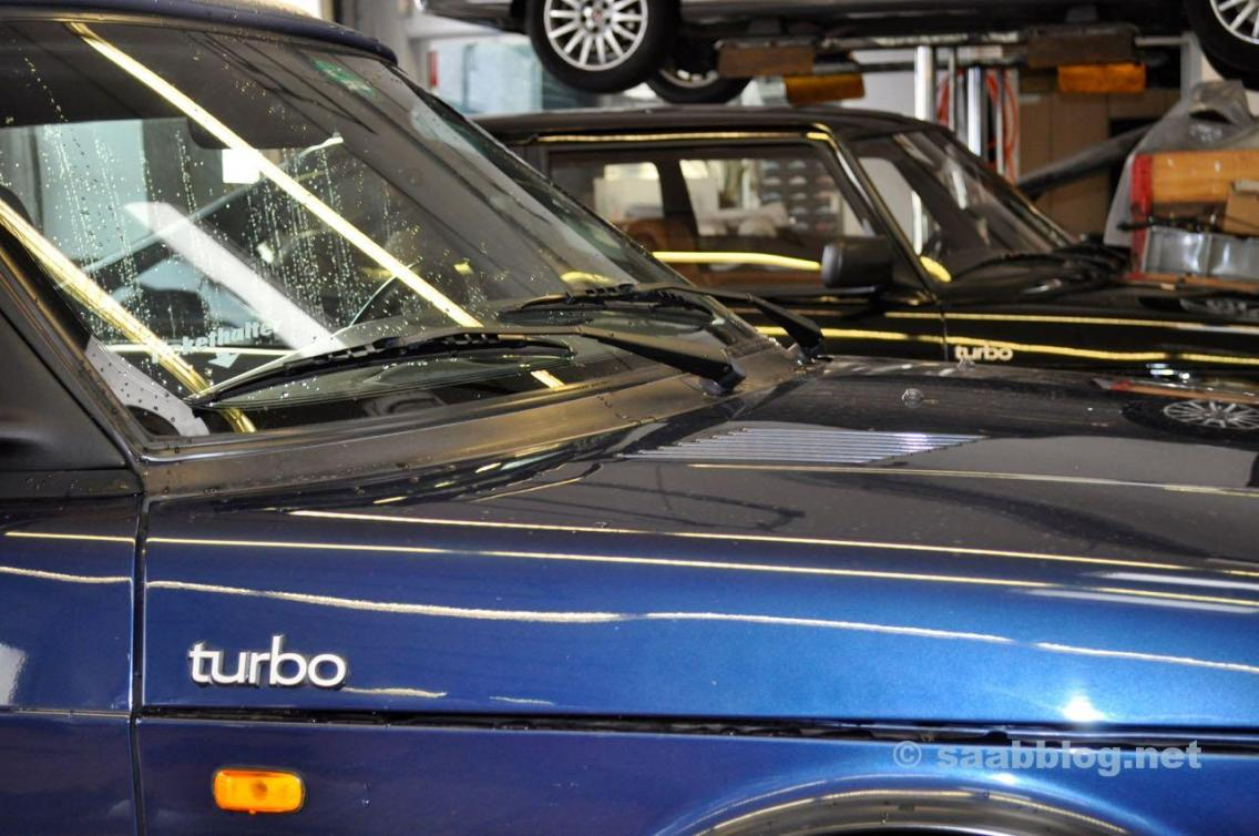 Turbo - Saab Klassiker in Frankfurt