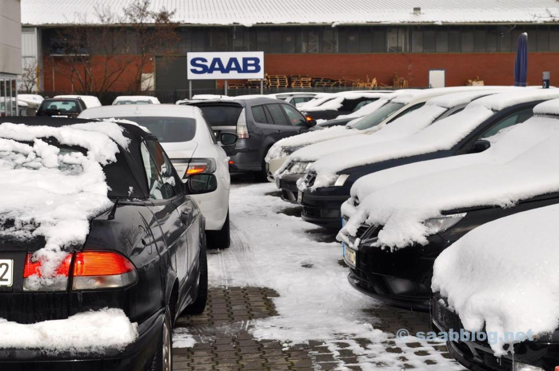Saab - Saab - Saab. Zu Besuch bei Saab Service Frankfurt