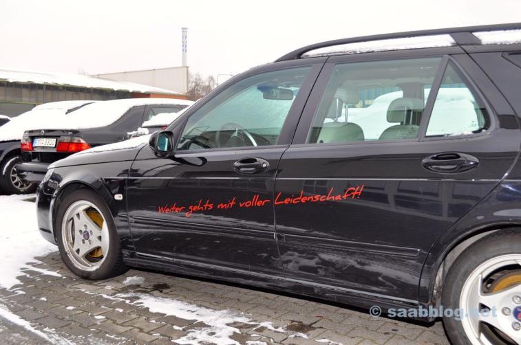 Saab - continue com paixão