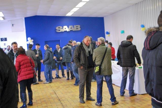 Autohaus Himberg dia de abertura © Alexander König / Saab-club Áustria.