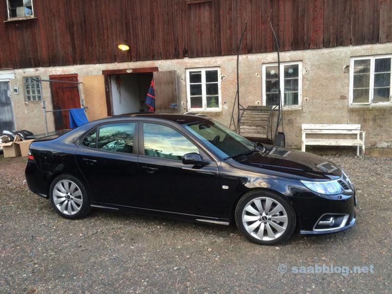 Saab 9-3 em Lilla Edet