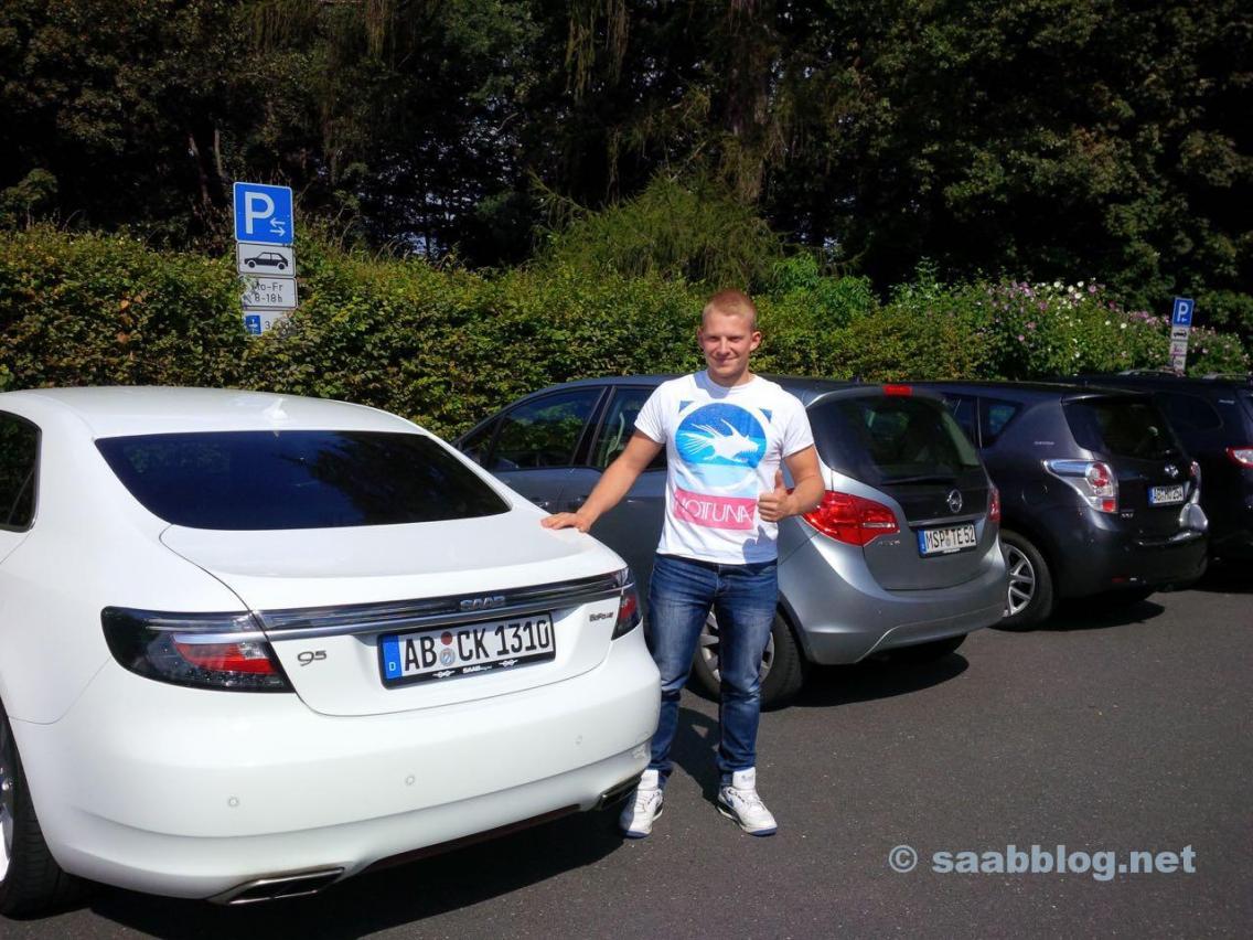Testkörning - en ny Saab 9-5-fläkt