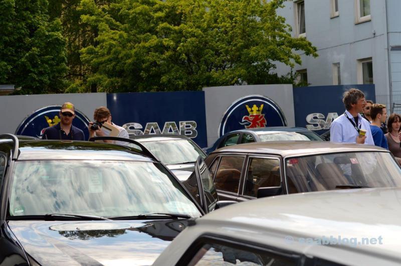 2013 . Pre-Tour Kiel - Trollhatten zum Saab Festival