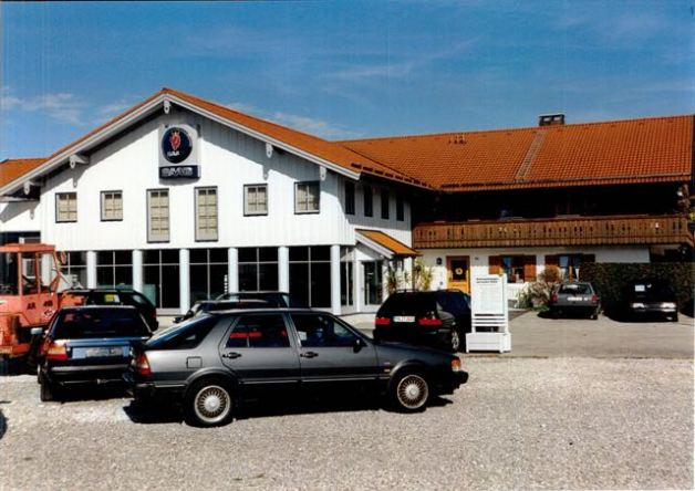 Saab 9000, das Donnerross