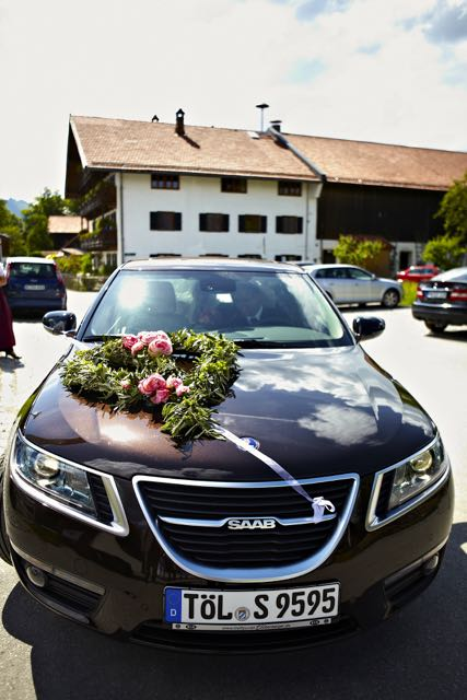 Casamento Saab de Swantje e Johann