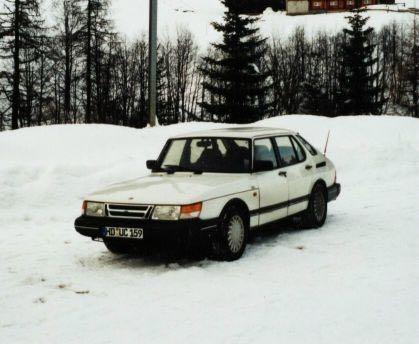 Saab 900, der erste Saab von Steffen