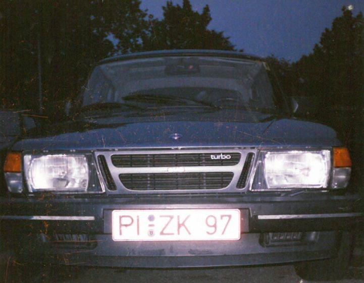 1. SAAB 900 Turbo 8V