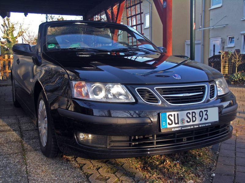 Acciona en LPG para 70.000 km: el Saab 9-3 Cabriolet de Thorsten