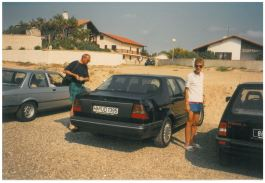 1989 SAAB 9000 CD in Francia