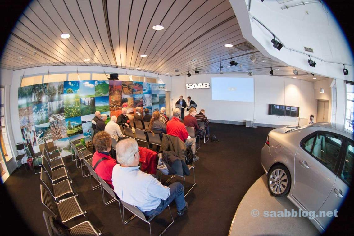 "The ""SAAB today and tomorrow"" presentation turned out to be a dry-run for the NEVS creditors meeting the day after."