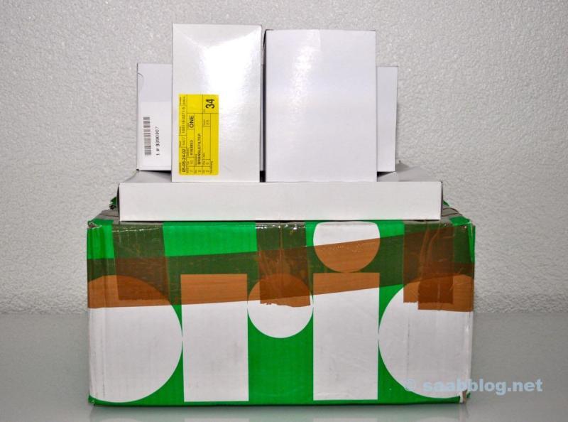 Orio-paket med originaldelar för underhåll