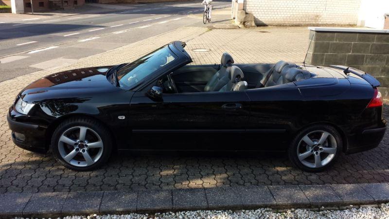 Das ist nun endlich mein eigener Saab, den ich so schnell nicht wieder hergebe.