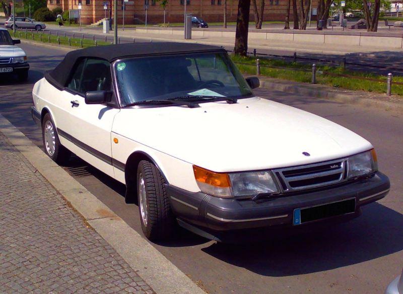 Saab 900 konvertibel från Hendrik