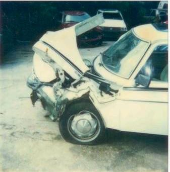 Saab 99 Crash Story