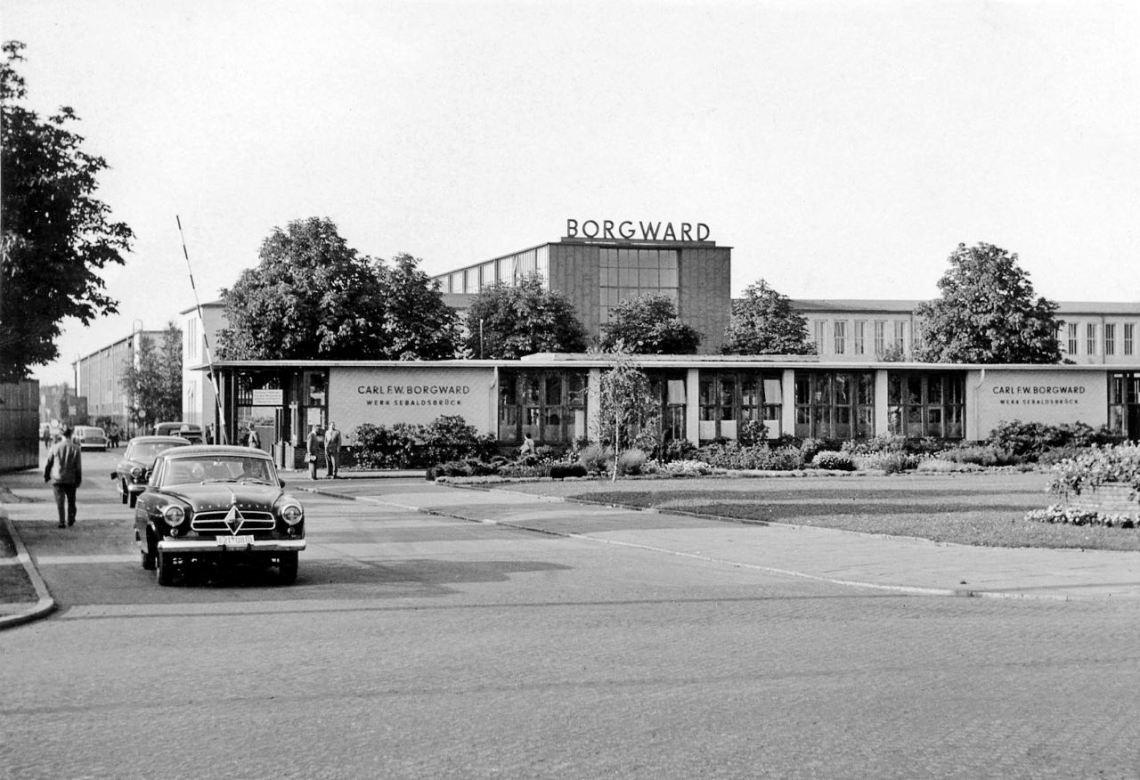 Planta Borgward Sebaldsbrueck. Imagem: Borgward AG
