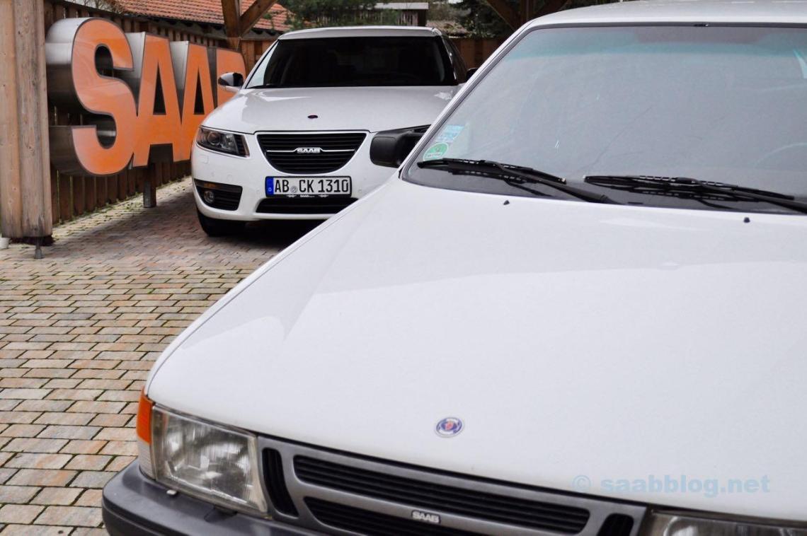 Saab Oberklasse. Erste und letzte Generation.
