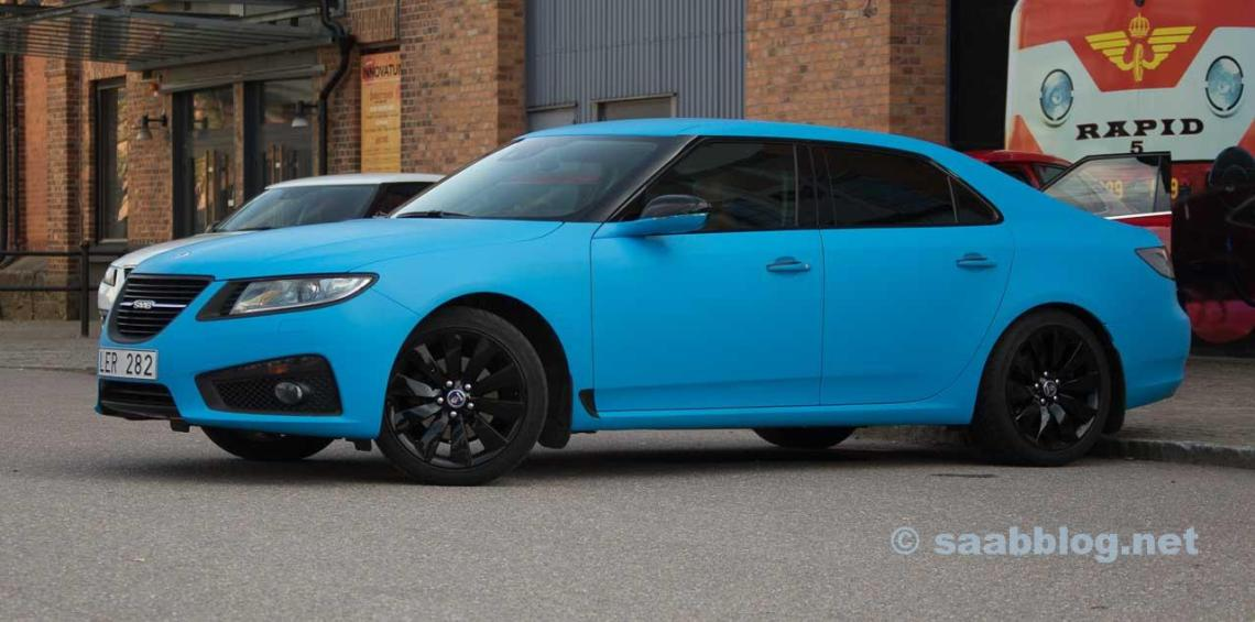 """The first transformation to """"Polestar blue"""""""