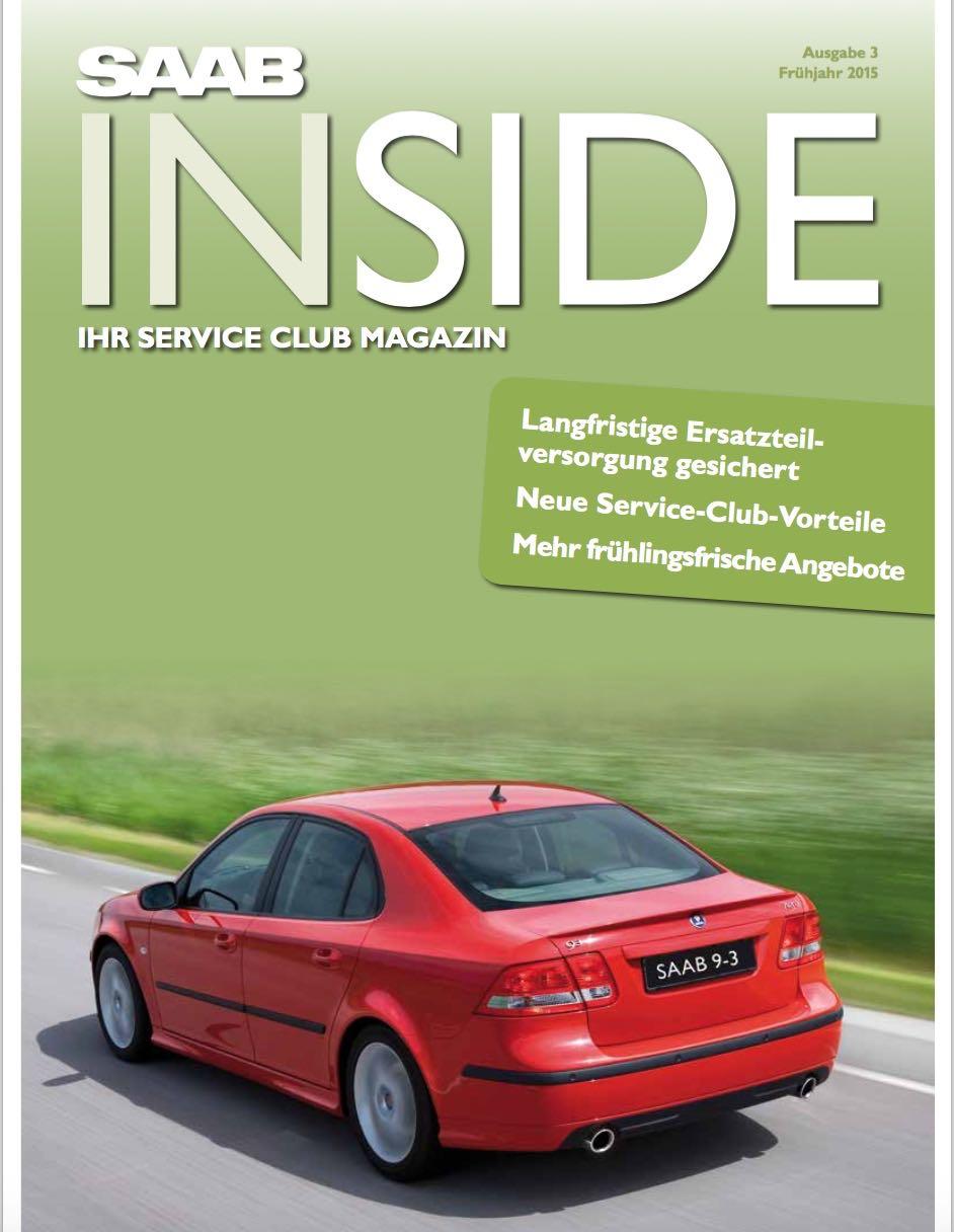 Saab Inside, Frühjahr 2015