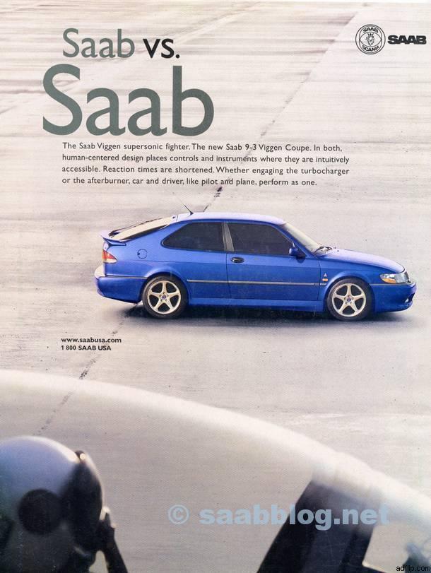 SAAB anuncia o patrimônio da aeronave enfatizado.