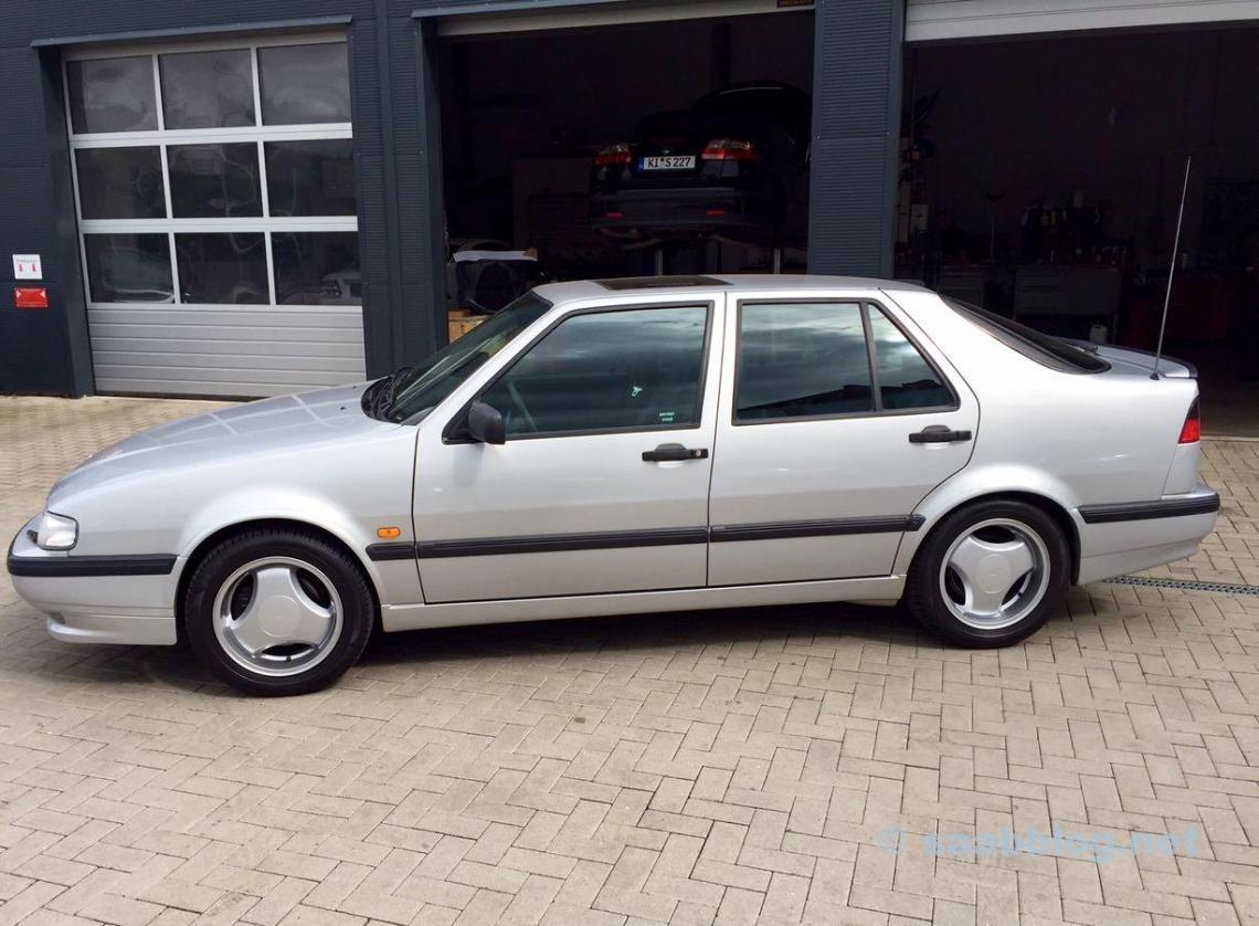 Die Anna: Saab 9000 1998, erste Hand.