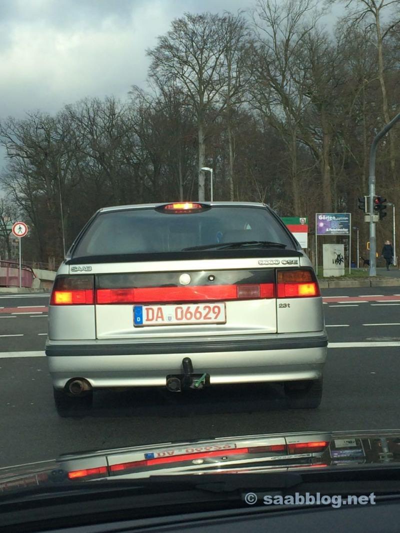 Saab 9000 CSE, Anniversary, 1998.