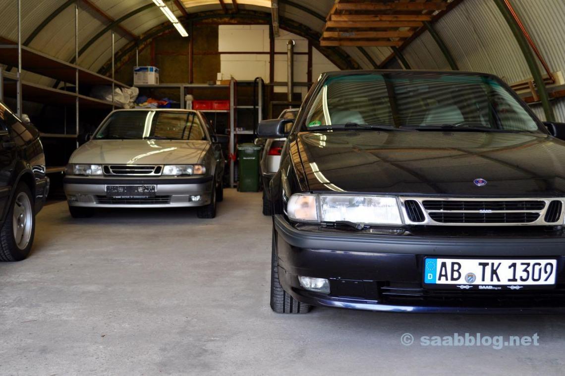 Notre hangar de Saab. Anna a reculé dans les derniers mois 12.