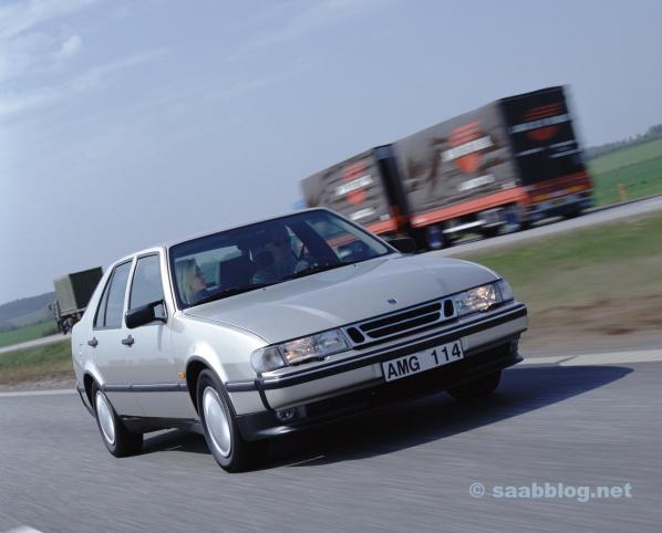 Saab 9000. Yougtimer mit immer noch durchschnittlicher Sicherheit.