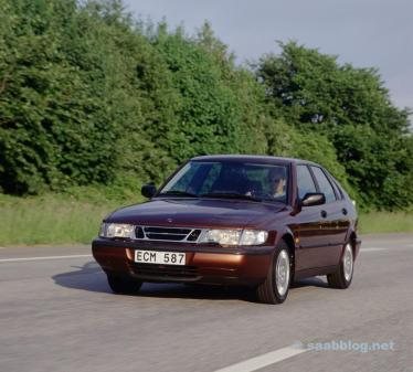 Saab 900 II Pelo menos 20% mais seguro que a média.