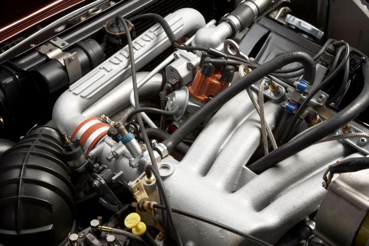 Turbo im Saab 99