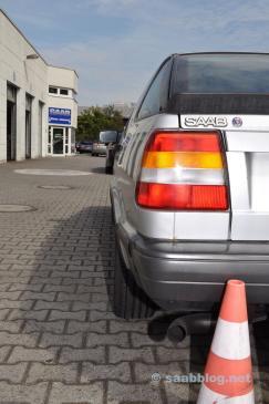 Saab 9000 CC Turbo. Meno di 80.000 chilometri.