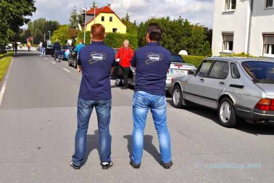 Saab friends Saxony