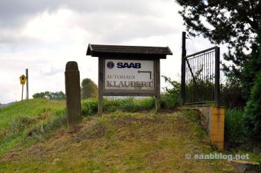 Saab está na aldeia mais pequena ...