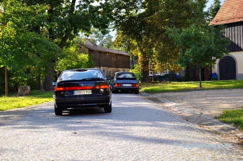 Einfach wunderbar. Saab 9000 Anniversary und Saab 900...