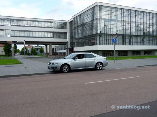 Saab 9-5 NG de Hans. A Bauhaus encontra Saab.