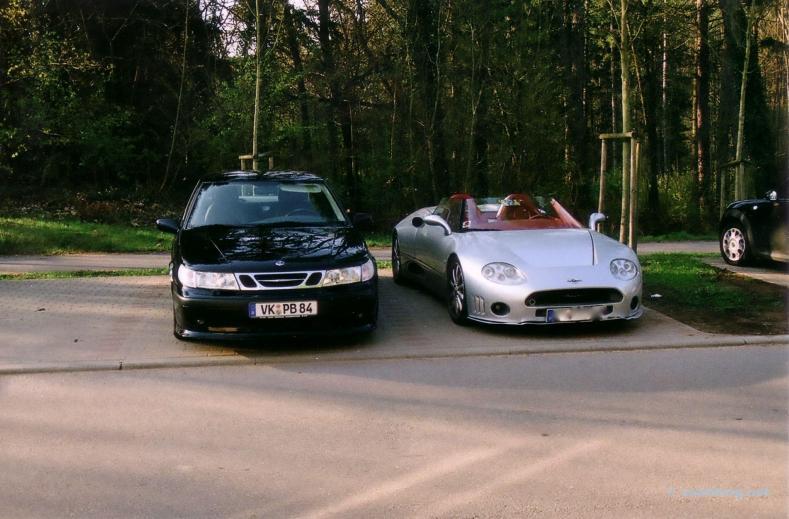 Saab 9-5 & Spyker