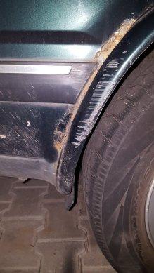Rust on the fender
