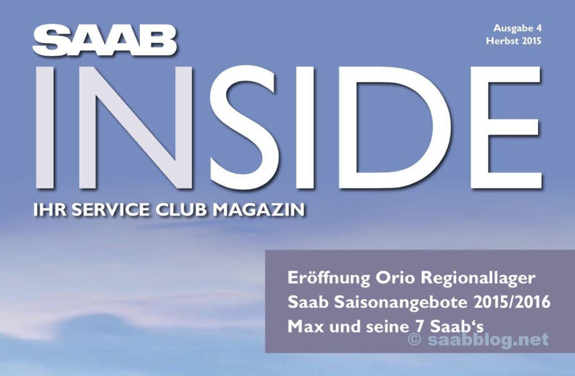 Saab Inside Ausgabe Nummer 4