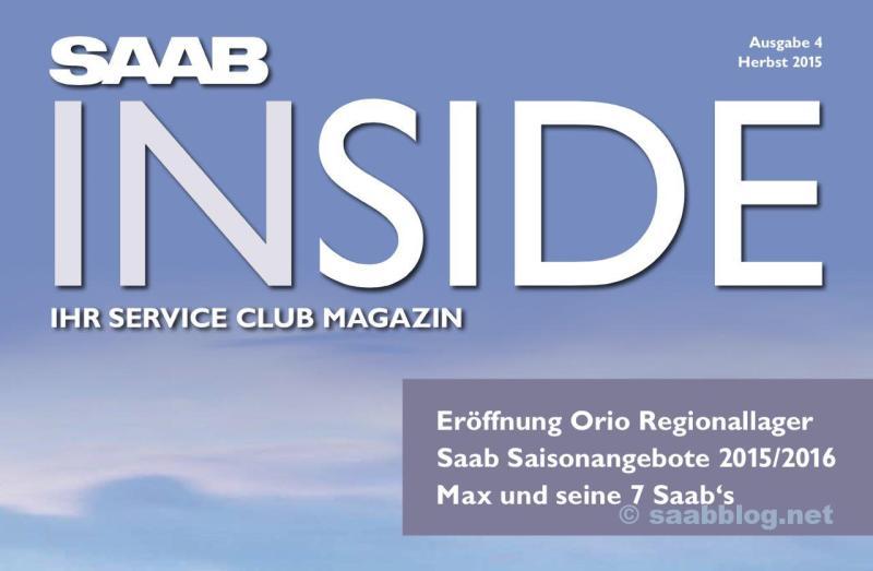 Saab Inside número de emissão 4
