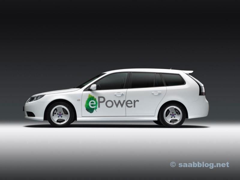 Saab ePower Concept